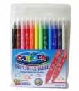 Carioca Флумастери, двувърхи, 10 цвята