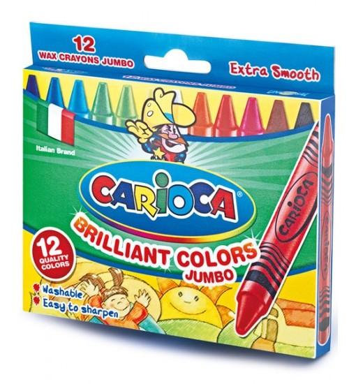 Carioca Пастели 12 цвята, Jumbo