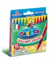 Carioca Пастели Brilliant 12 цвята, измиваеми