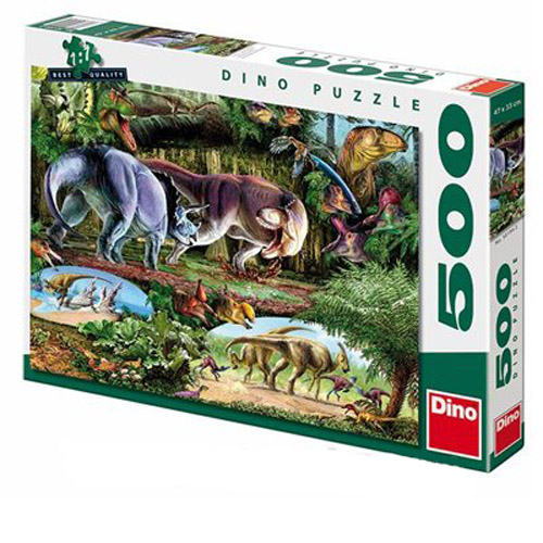 Dino Пъзел Динозаври 500 части