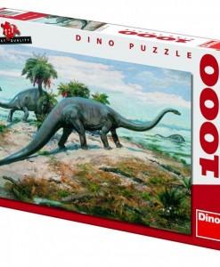 Dino Пъзел Динозаври - Диплодок 1000 части