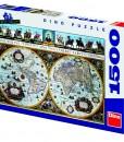 Dino Пъзел Историческа карта 1500 части