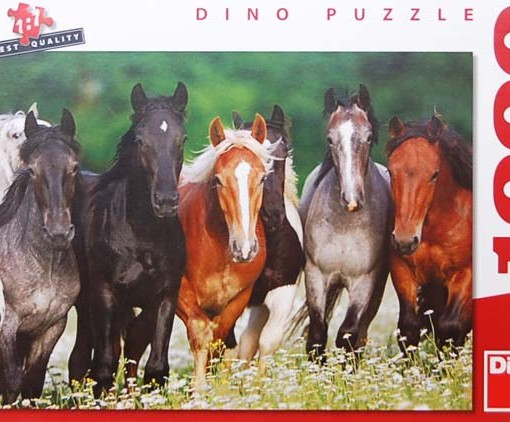 Dino Пъзел Коне 1000 части