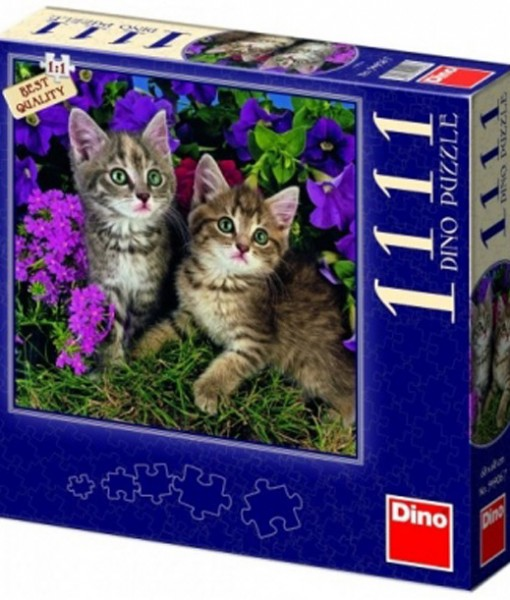 Dino Пъзел Котки 1111 части