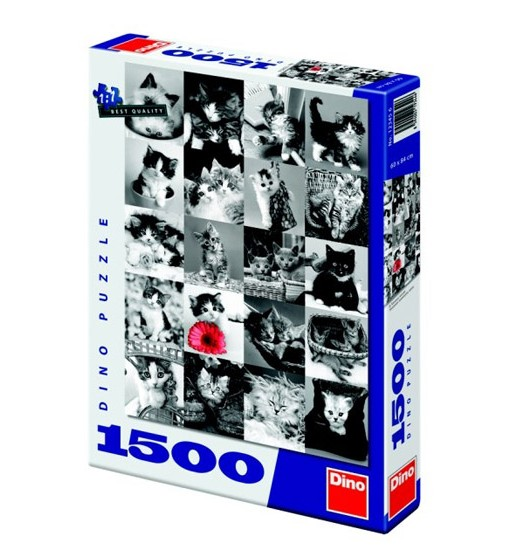 Dino Пъзел Котки 1500 части