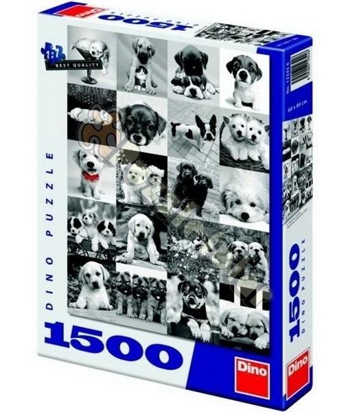 Dino Пъзел Кучета 1500 части