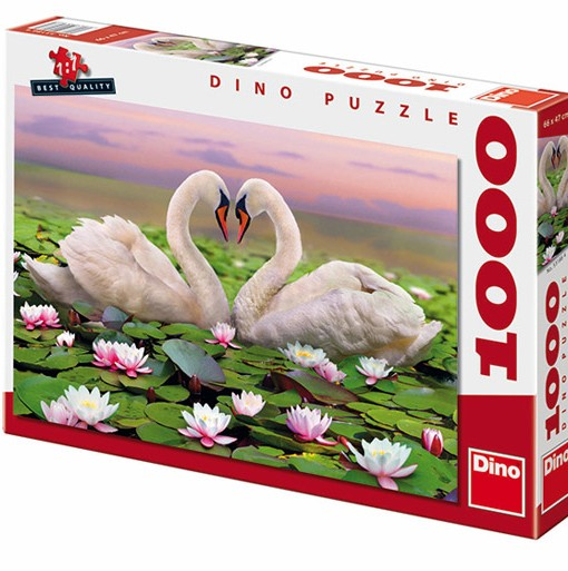 Dino Пъзел Лебеди 1000 части