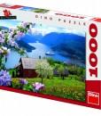 Dino Пъзел Норвежки фиорд 1000 части