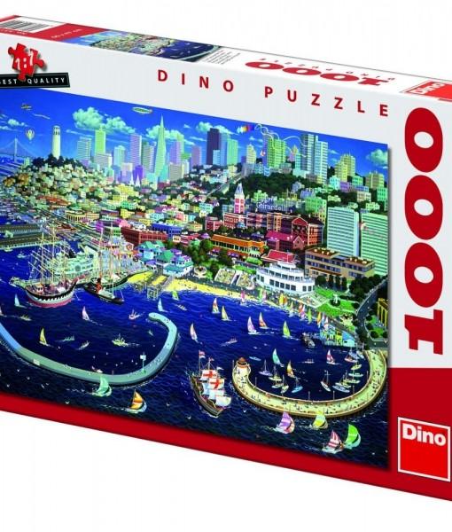 Dino Пъзел Сан Франциско 1000 части