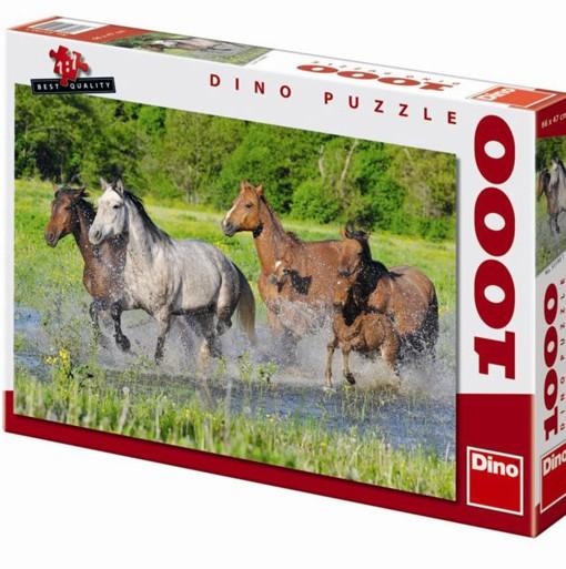 Dino Пъзел Стадо коне 1000 части