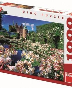 Dino Пъзел Замъка Егесков 1000 части