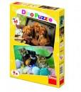 Dino Пъзел кучета и котки 2 х 48 части