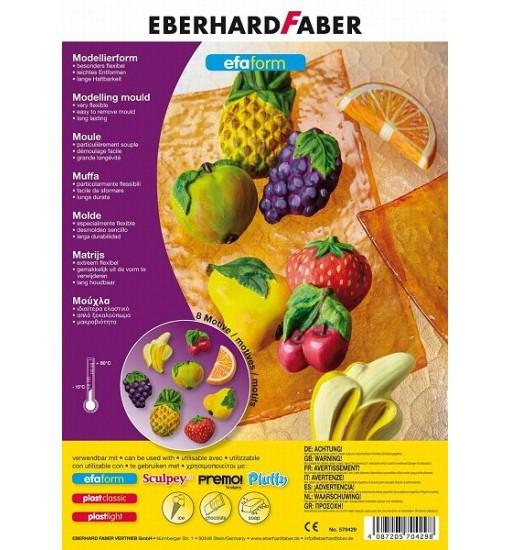 Eberhard Faber Формички за моделин , плодове