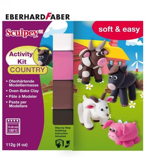 Eberhard Faber Моделин Sculpey, животни, комплект