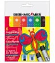 Eberhard Faber Пастели, гел, 6 цвята държ.