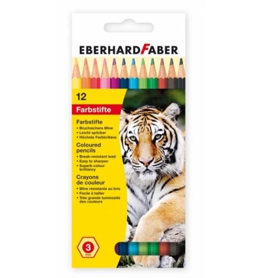Eberhard Faber Цветни моливи, 12 цвята