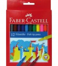 Faber-Castell Флумастери 12 цвята
