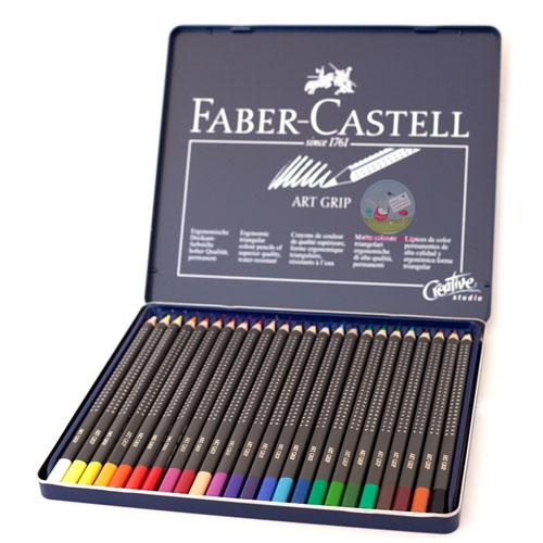 Faber-Castell Цветни моливи Art GRIP 24 цв.