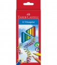 Faber-Castell Цветни моливи Triangular 12цв.