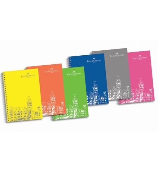 Faber-Castell Тетрадка РР, 100 листа, голям формат