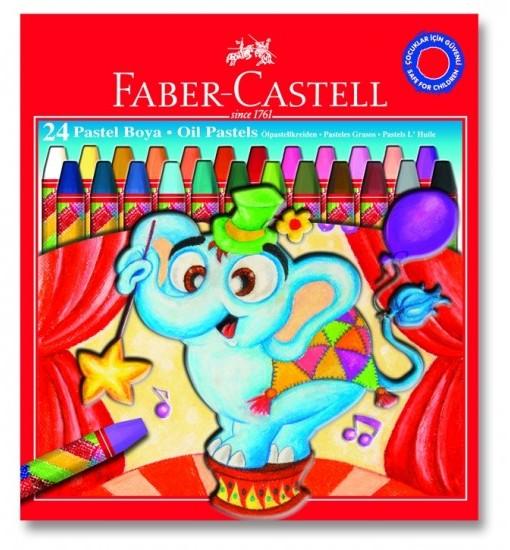 Faber-castell Пастели 24 цвята