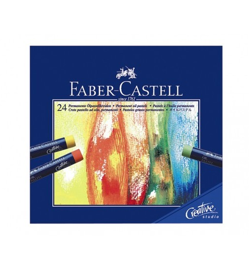 Faber-castell Пастели Goldfaber Creativ, 24 цвята