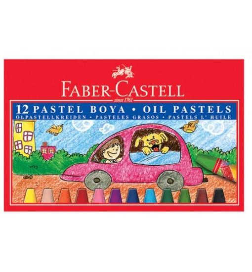 Faber-castell Пастели маслени 12 цвята, кутия