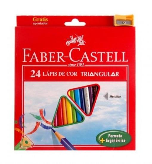 Faber-castell Цветни моливи Eco, 24 цвята