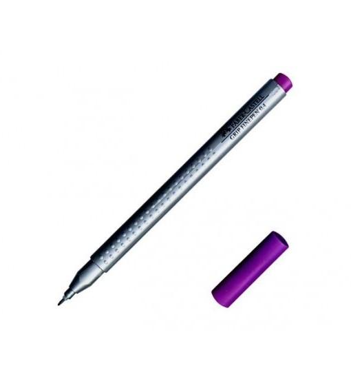 Faber-castell Тънкописец Grip, лилав