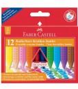 Faber-castellПастели Jumbo Grip, 12 цвята