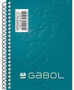 Gabol Бележник В7, 80 листа, спирала, офсет