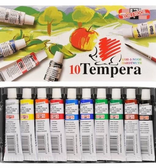 Koh I Noor Темперни бои, тубички, 10 цвята