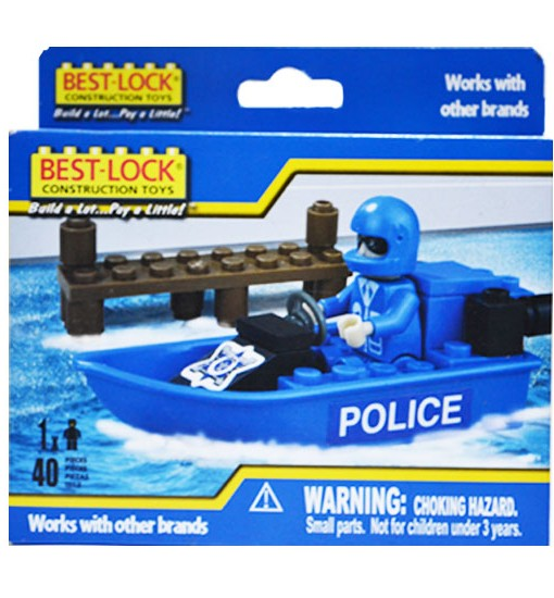 Консруктор Полицейски Скутер Best-Lock