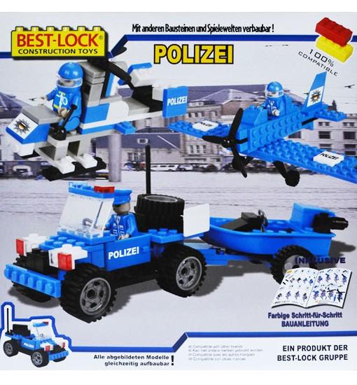 Консруктор Полиция 3 Best-Lock