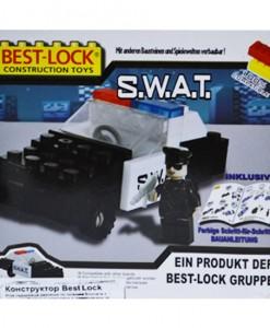 Консруктор SWAT джип Best-Lock