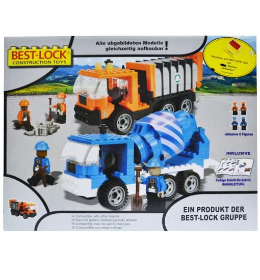 Конструктор боклуджийски камион и бетонобъркачка - Best-Lock