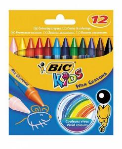 Восъчни пастели BIC Kids