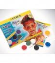 Бои за рисуване на лице и тяло