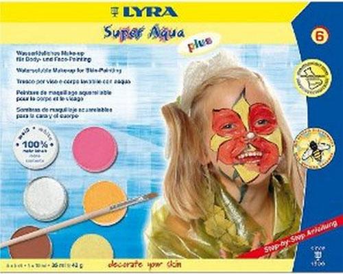 Бои за рисуване на лице и тяло 2