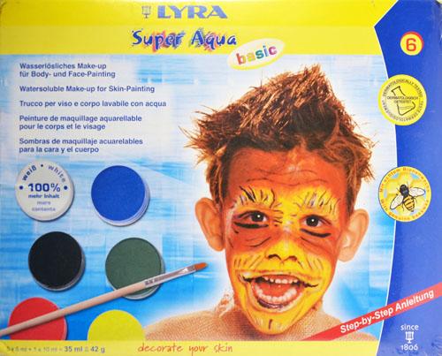 Бои за рисуване на лице и тяло 3