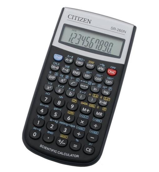 Citizen Настолен калкулатор SR-260N