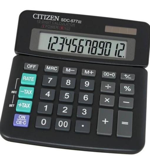 Citizen Настолен калкулатор SDC-577