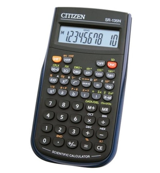 Citizen Настолен калкулатор SR 135N