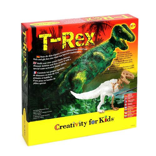 Faber-castell Творчски компмект Динозавър T-Rex