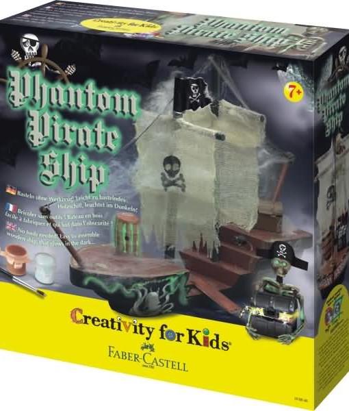 Faber-castell Творчски компмект Голям Пиратски кораб