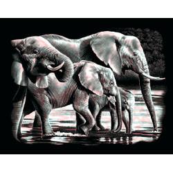 Комплект за гравиране – Слонове 2