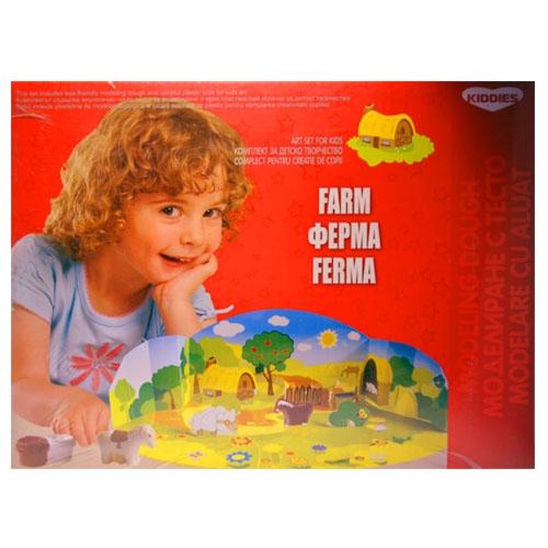Моделин Цветна глинена серия – Ферма