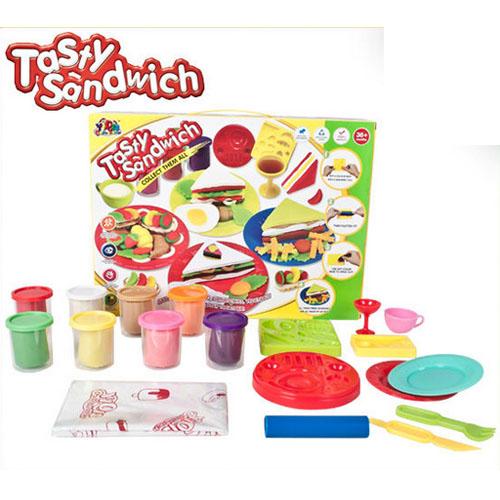 Моделин Цветна глинена серия – Тост и сандвич