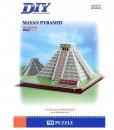 3D Puzle Пирамидите на маите