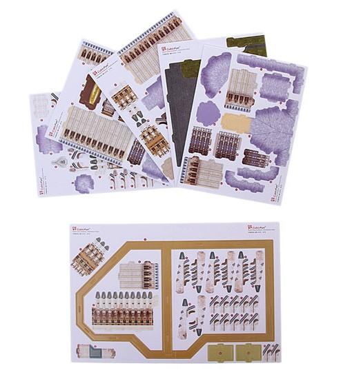 3D пъзел DIY Puzzle  Крайслер Билдинг 2